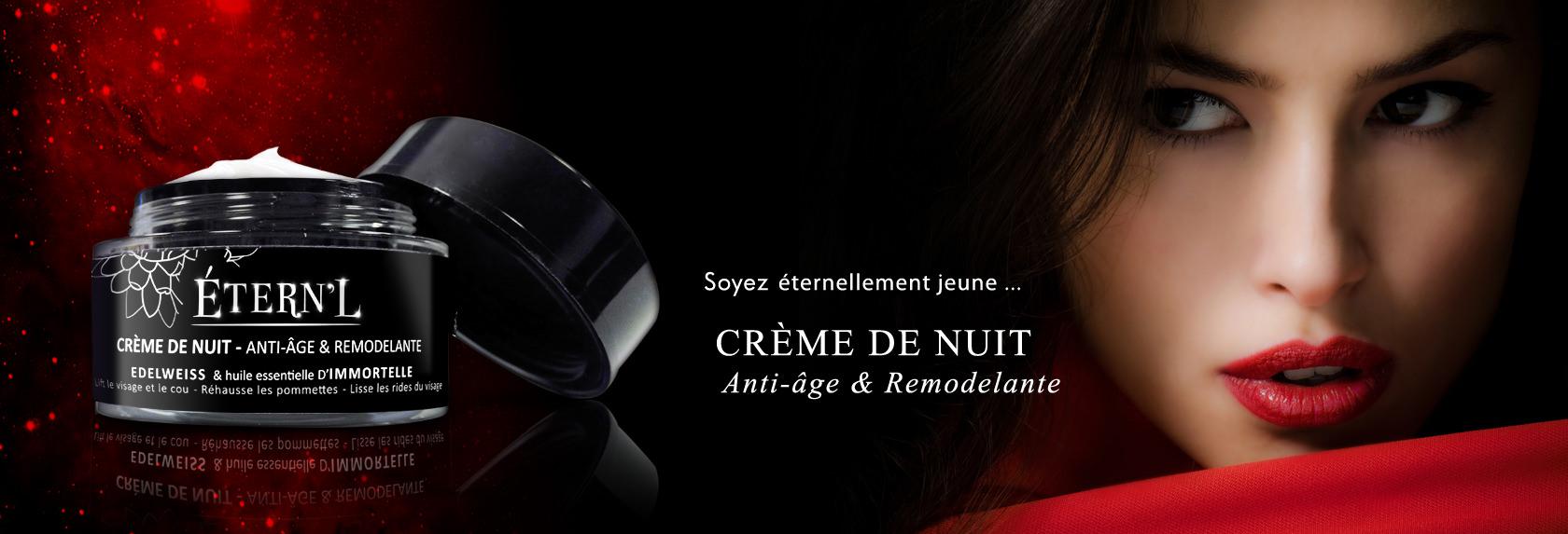 Étern'L Crème de Nuit Anti-Âge