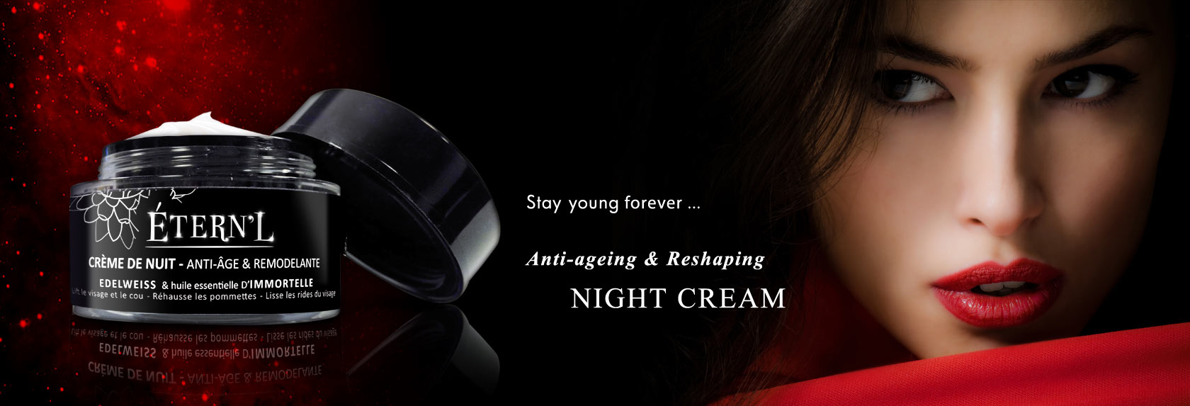 Étern'L NIGHT CREAM - ANTI-AGEING & RE-MODELLING