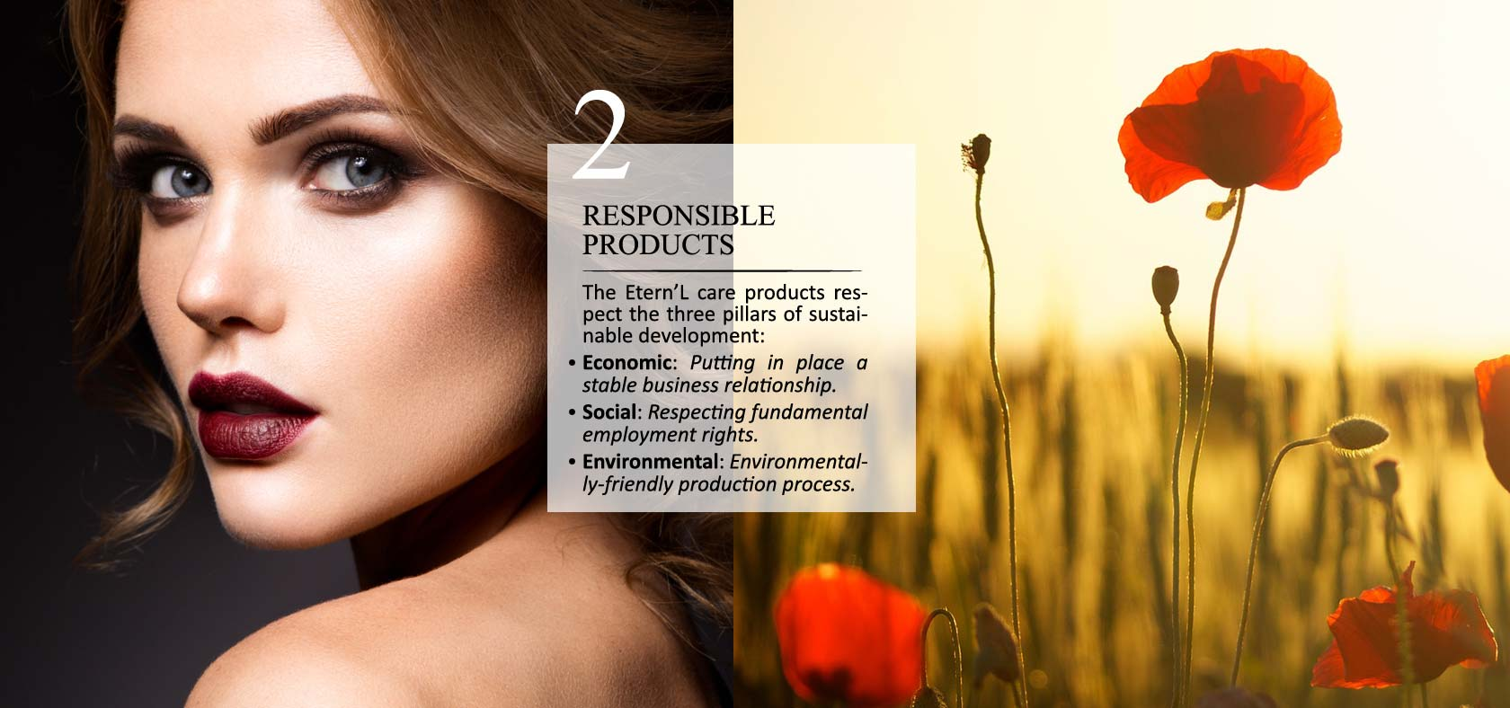 Éternel commitment #2: responsible products